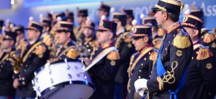 L'AQUILA-RINVIATO CONCERTO FANFARA DELLA POLIZIA