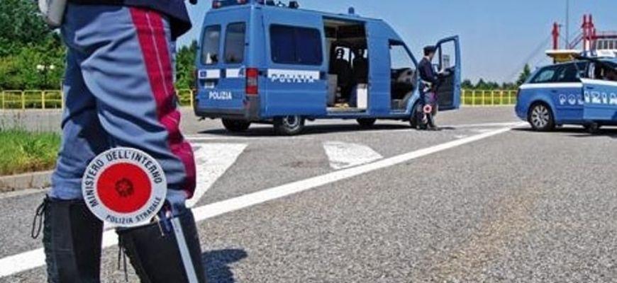 POLIZIA DENUNCIA UOMO ALLONTANATOSI DOPO INCIDENTE