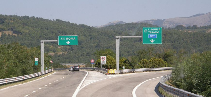 A24: chiusura notturna svincolo GRA direzione Prenestina/Casilina