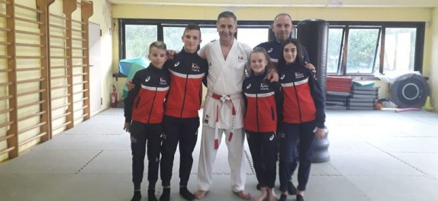LA KARATE DOSCHI VOLA IN CROAZIA