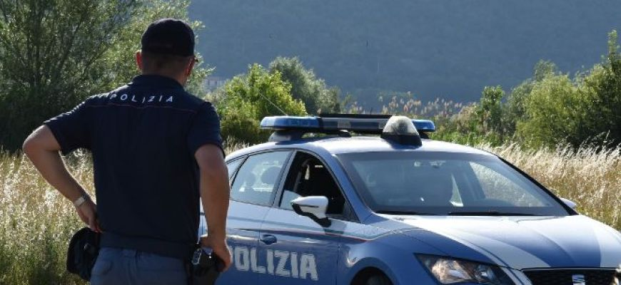 ARRESTATO RAGAZZO CHIETINO DALLA POLIZIA