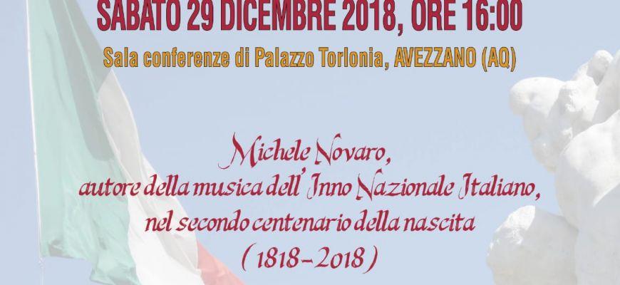 200ESIMO ANNIVERSARIO DELLA NASCITA DI MICHELE NOVARO