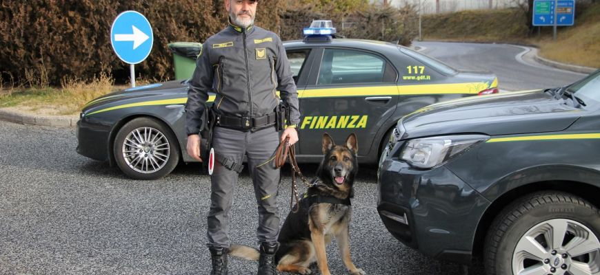 Guardia di Finanza, sequestra hashish e marijuana.