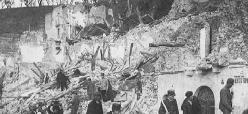AVEZZANO E LA MARSICA RICORDANO IL TERREMOTO DEL 1915