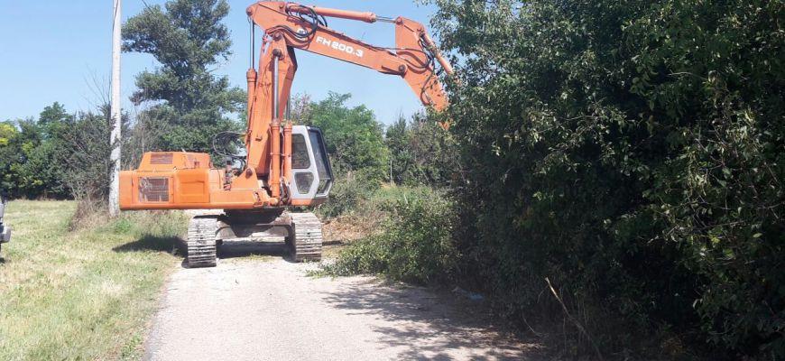 Fucino: bonifica dei fossi in corso