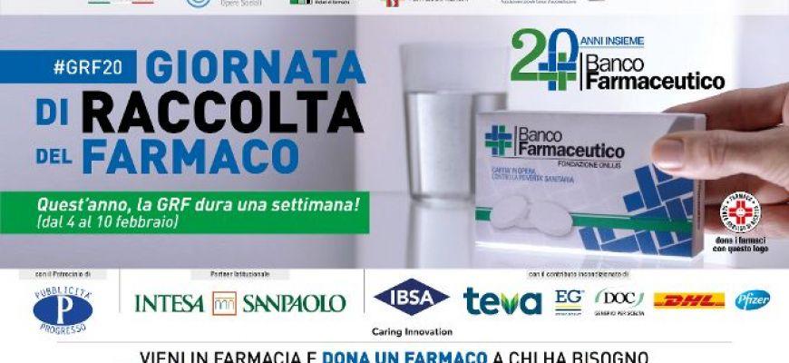 TORNA LA GIORNATA DI RACCOLTA DEL FARMACO