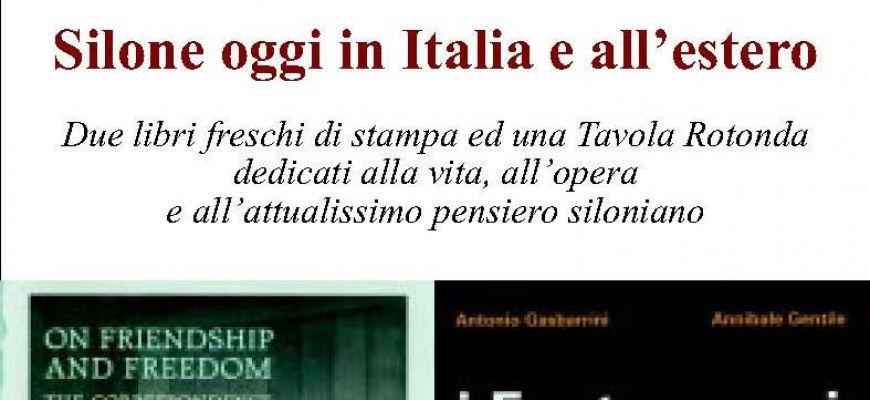 Silone oggi, in Italia e all'estero