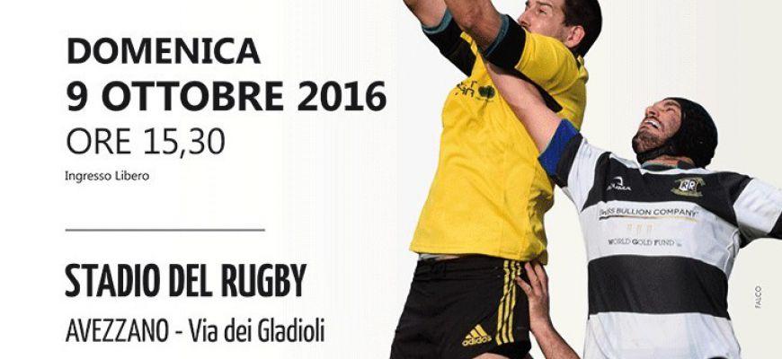 Avezzano Rugby, esordio casalingo per l'Avezzano