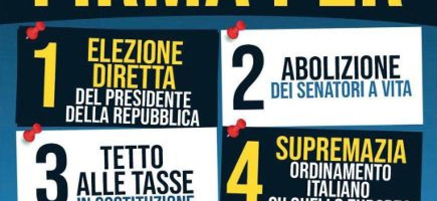 RIFORME FDI-A L'AQUILA RACCOLTA DI FIRME
