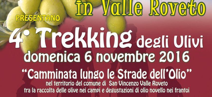 Con il 4° trekking degli ulivi al via frantoi aperti in Valle Roveto