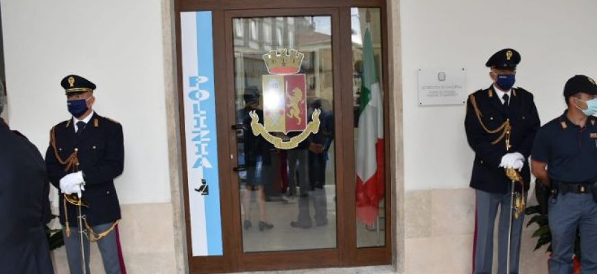 INAUGURATO POSTO FISSO DELLA POLIZIA DI CASTEL DI SANGRO