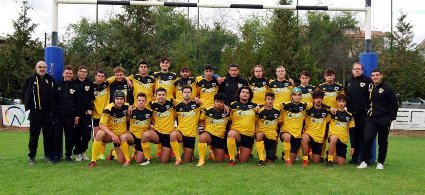 Vittoria travolgente per l'under 19 dell'ISWEB Avezzano Rugby.