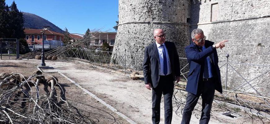 PROSEGUONO I LAVORI AL CASTELLO ORSINI