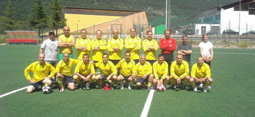 Collelongo, giornate di calcio Amatori Vallelonga