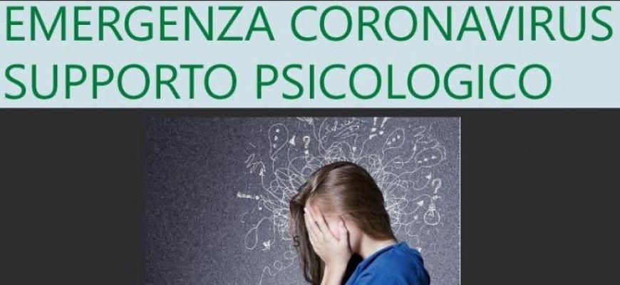 CORONAVIRUS: PSICOLOGI E ASSISTENTI SOCIALI DELLA ASL AL TELEFONO.
