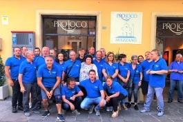 Pro-Loco di Avezzano: distribuzione buste spesa alle famiglie disagiate.