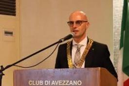 Paolo Porrini è il nuovo presidente del Rotary club di Avezzano