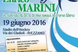 Hockey su prato, primo memorial Enrico Marini