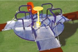 Raccolta fondi per il parco giochi, stand in piazza