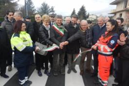 Avezzano, inaugurata Via Monte Cervaro