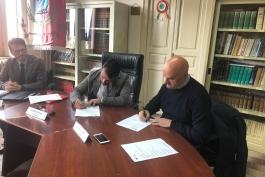 CONVENZIONE SPORTELLO EUROPA E COMUNE DI MASSA D'ALBE