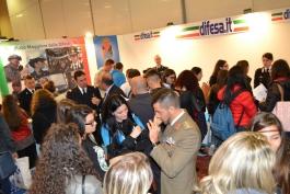 Boom di studenti a Pescara, all'orientamento dell'Esercito
