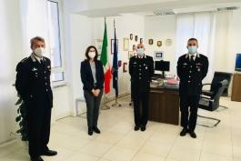 PREFETTO TORRACO E CARABINIERI PER PATRIMONIO CULTURALE