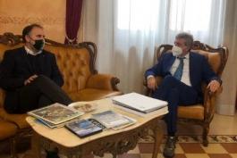 L'ASSESSORE LIRIS INCONTRA IL SINDACO DI PANGRAZIO