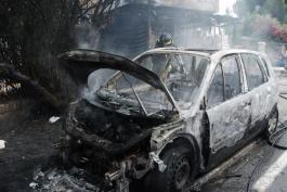 Macchina a fuoco a Carsoli: continua il fenomeno marsicano delle auto bruciate