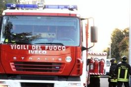 INTERVENTO DEI VIGILI DEL FUOCO A CIVITELLA ROVETO