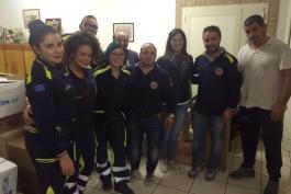 La protezione civile di Gioia per i bisognosi