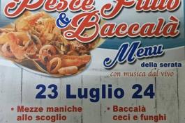 Torna sabato e domenica la sagra del pesce fritto a Caruscino