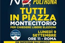 FRATELLI D'ITALIA CHIAMA A RACCOLTA IL POPOLO DELLA DESTRA