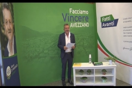 SICUREZZA- TEMA TANTO CARO AL CANDIDATO SINDACO DI AVEZZANO DI PANGRAZIO