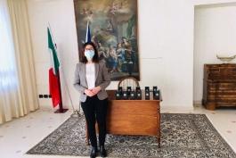 GIORNO DELLA MEMORIA-CONSEGNA MEDAGLIE D'ONORE