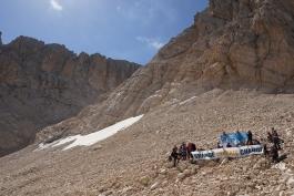 I risultati del monitoraggio del ghiacciaio sul Calderone