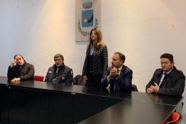 MARSILIO INCONTRA SINDACI DI BALSORANO E DELLA VALLE ROVETO