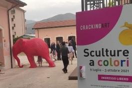 CRACKING ART IN ESPOSIZIONE ALL'AIA DEI MUSEI