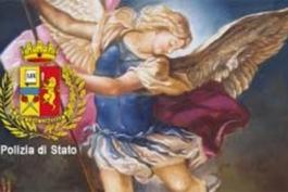 POLIZIA DI STATO RENDE OMAGGIO AL SUO PROTETTORE
