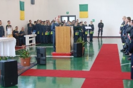VISITA PASTORALE DI MONS.MARCIANO' AL COMANDO REGIONALE GDF