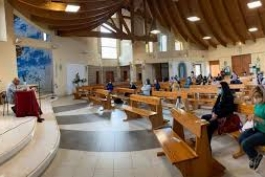 Catechesi nella parrocchia di Caruscino.