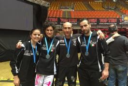 Podio dorato per la K.O. Team Kickboxing di Trasacco: le sfide più dure sono vinte dai migliori