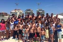Atleti marsicani agli allenamenti della Nazionale nuoto