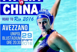 All'Unipol Blu Stadium Italia- China
