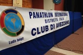 Panatlhon Club Avezzano - inziativa di solidarietà