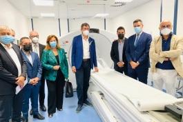 Inaugurata la PET-TAC dell'ospedale Santo Spirito di Pescara.
