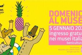 DOMENICA AL MUSEO E EPIFANIA ALL'INSEGNA DELL'ARTE