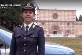 La tagliacozzana Valentina, ispettore capo di Polizia, rende sicure le strade d'Italia con un click
