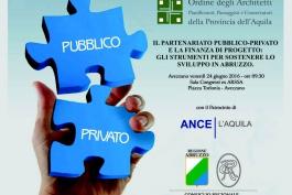 Partenariato Pubblico Privato e Finanza di Progetto, convegno ad Avezzano