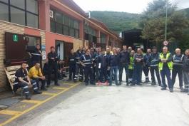 Chiude la Vesuvius, interessati oltre 100 lavoratori